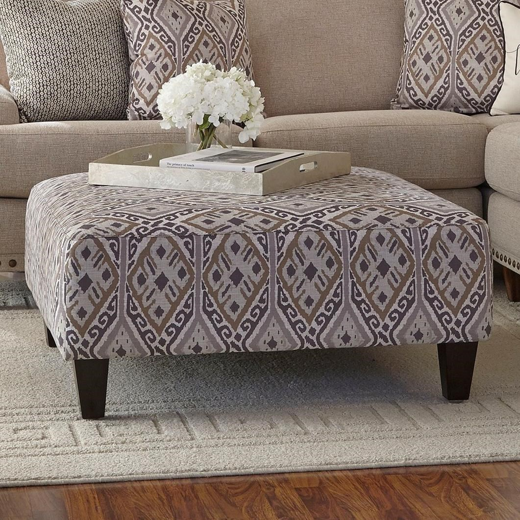 71418 Ottoman by Franklin at Furniture Superstore - Rochester, MN