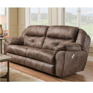 Franklin Conway Pwr Reclining Sofa w/Pwr Headrest