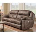 Franklin Conway Pwr Reclining Sofa w/Pwr Headrest - Item Number: 74946 8708-14