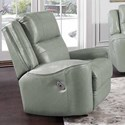 Franklin 762 Dual Power Rocker Recliner with USB Port - Item Number: 4762-LM 92-37