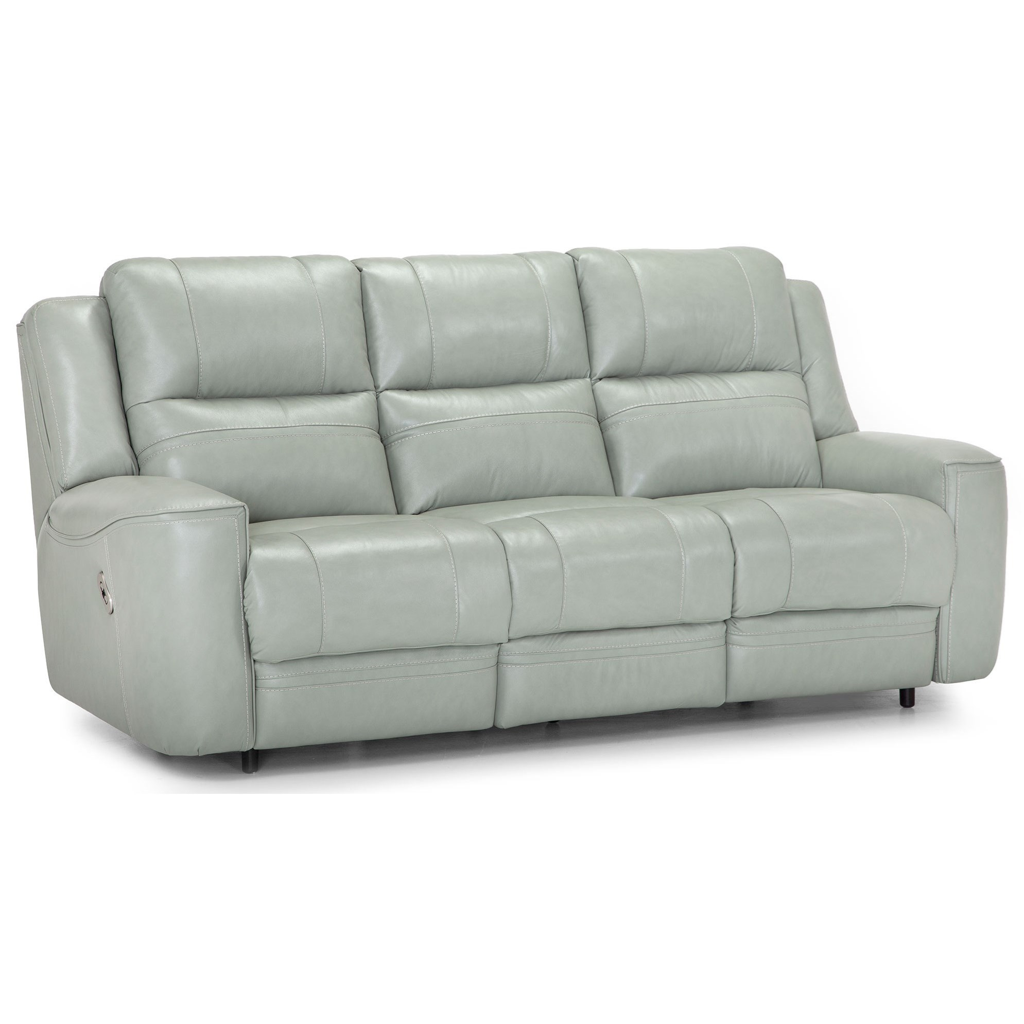 Dual Power Reclining Sofa with USB Port