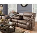 Franklin Hector Reclining Sofa With Drop Down Table - Item Number: 76444-8706-13