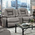 Franklin 794 Reclining Loveseat with Console - Item Number: 79434-LM 93-04