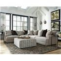Franklin Hannigan 3 Piece Sectional - Item Number: FRAN-GRP-808-3PC-SECTIONAL