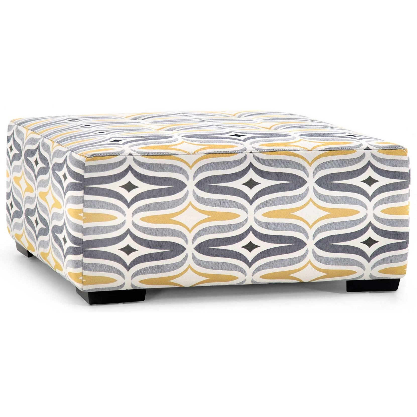 Barton Cocktail Ottoman by Franklin at Virginia Furniture Market
