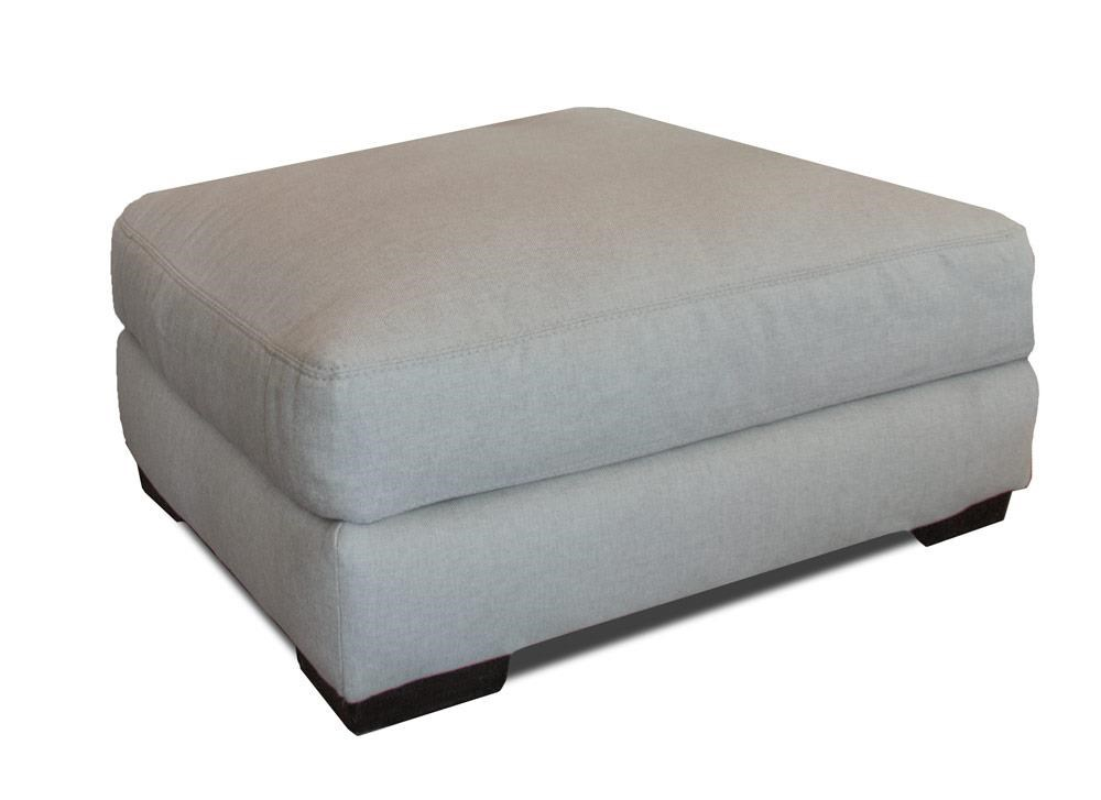 Franklin Oslo Linen Ottoman - Item Number: 80818 3514-08