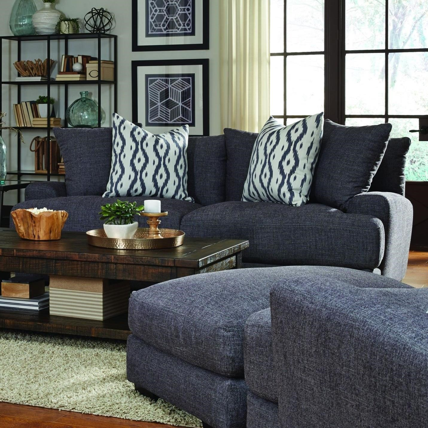 Franklin Journey 80840 Sofa With Two Seat Cushion Construction | Furniture  And ApplianceMart | Sofas