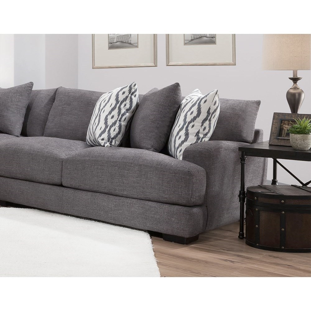 Franklin Brendan Sectional Sofa With 5 Seats Crowley