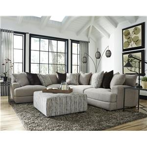 Franklin Hannigan Sectional with 4 Seats