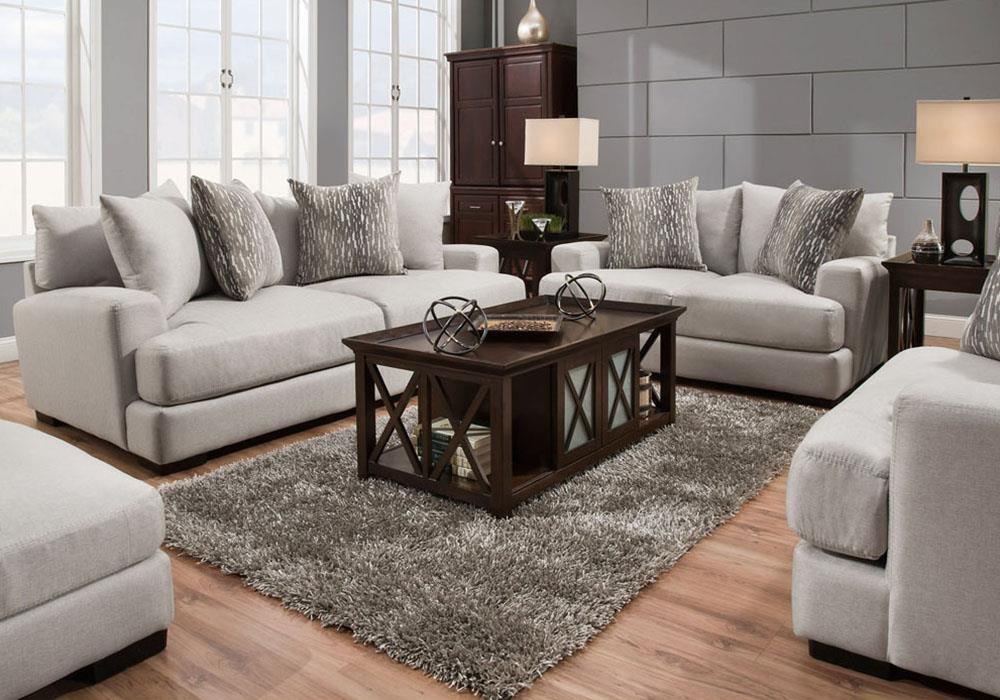Living Room Group Lauren Linen