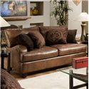Franklin 809 Casual Loveseat - 80920 8934-15