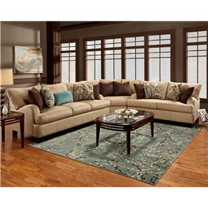 Franklin 809 Sectional Sofa