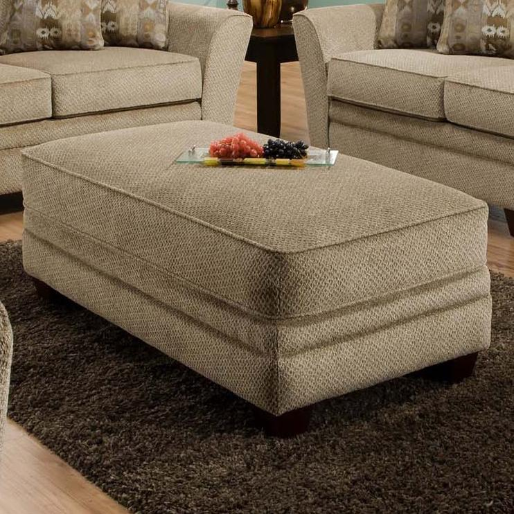 811 Ashland Ottoman by Franklin at Virginia Furniture Market