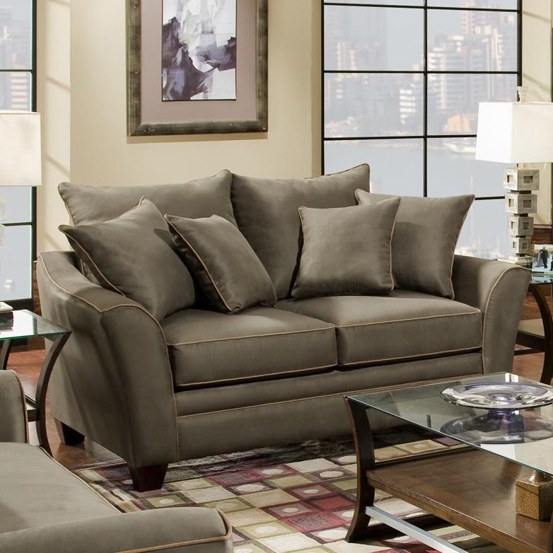 811 Endura Loveseat by Franklin at Virginia Furniture Market