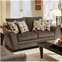 Franklin 811 Abbot Loveseat - Item Number: 81120 Abbot