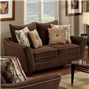 Franklin 811 Bridgeport Loveseat - Item Number: 81120 Bridgeport