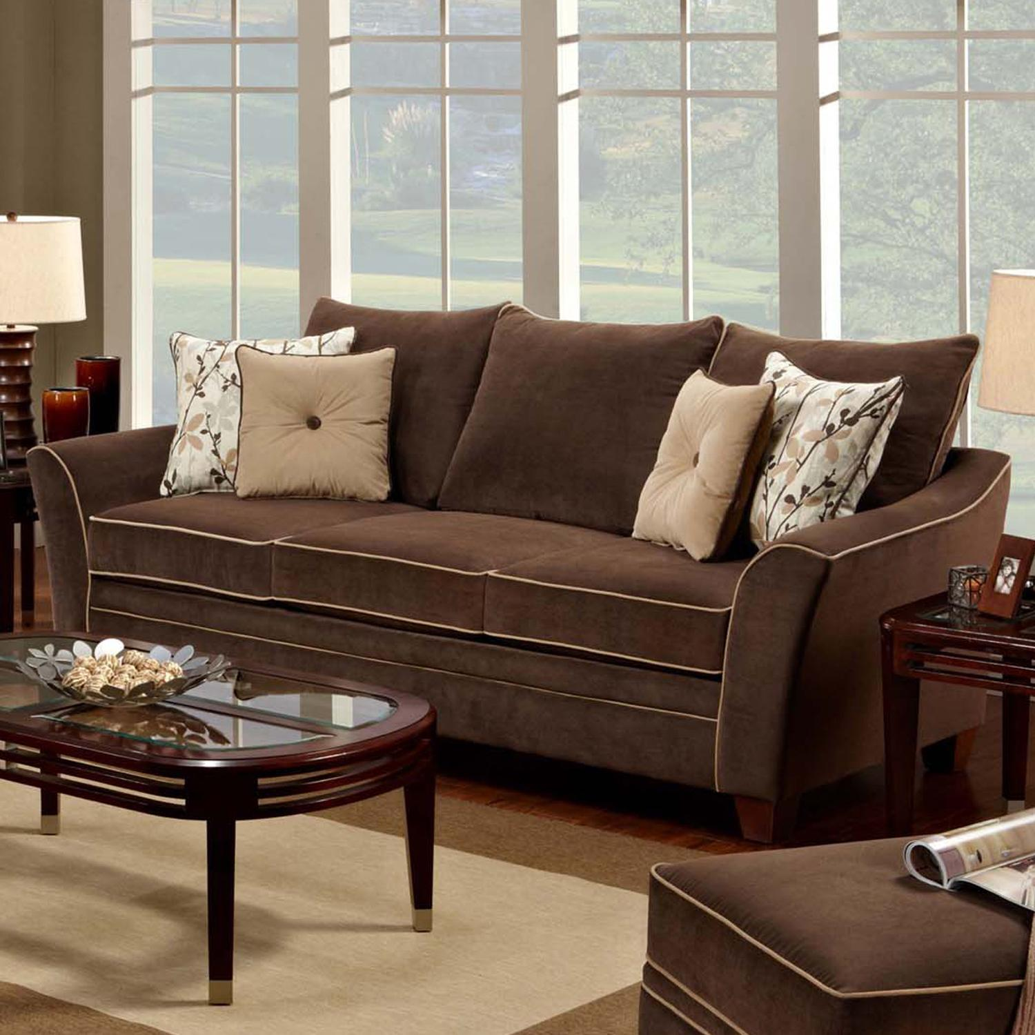 811 Bridgeport Sofa by Franklin at Furniture Superstore - Rochester, MN
