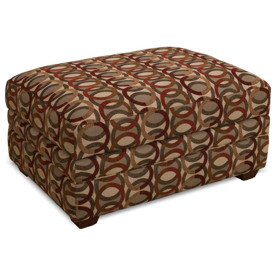 Ottoman Storage Ottoman by Franklin at Wilcox Furniture