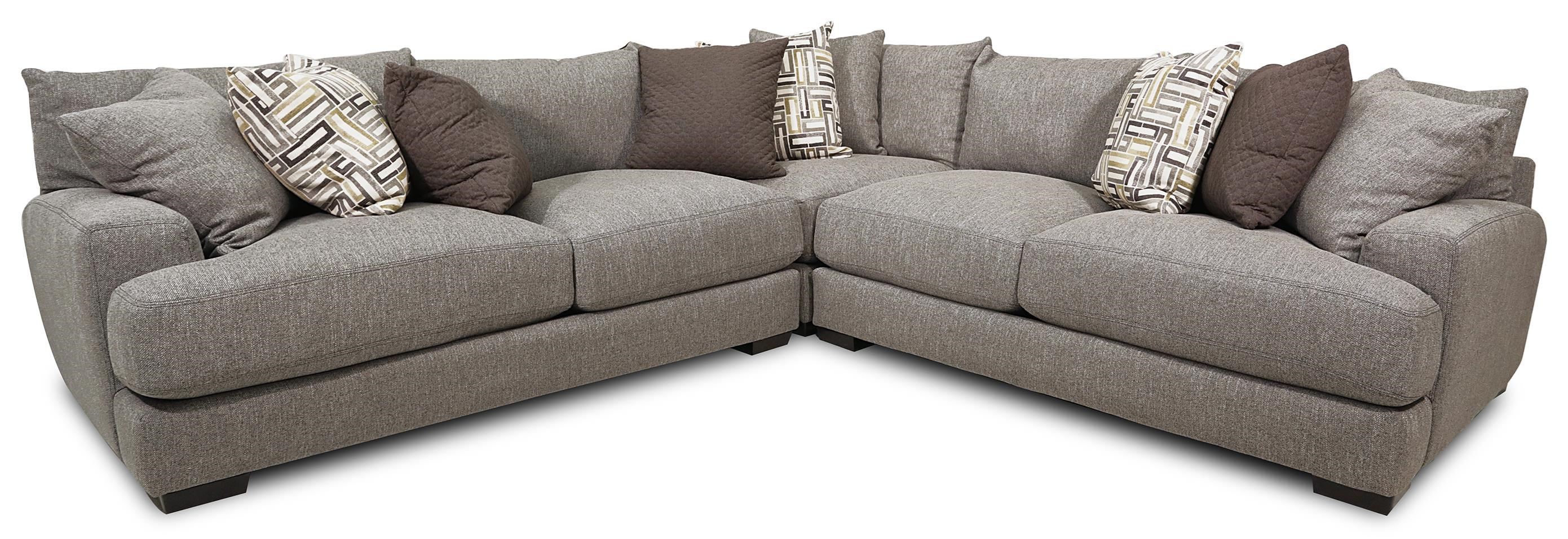 3-Piece Stationary Sectional