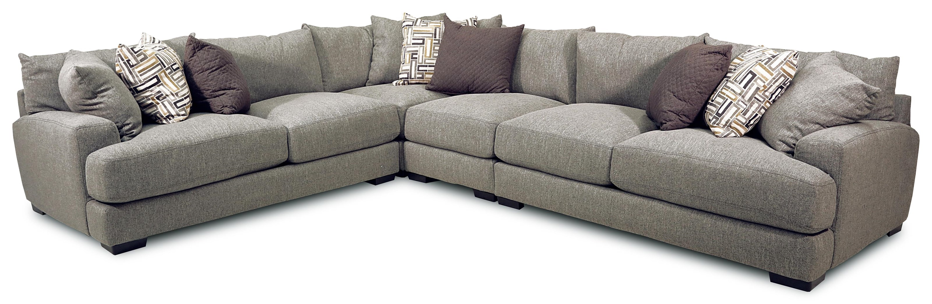 Franklin Brentwood 4-Piece Stationary Sectional - Item Number: 18818-4PC