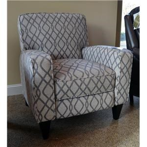 Franklin Hawthorne Lucy Steel Push Back Recliner