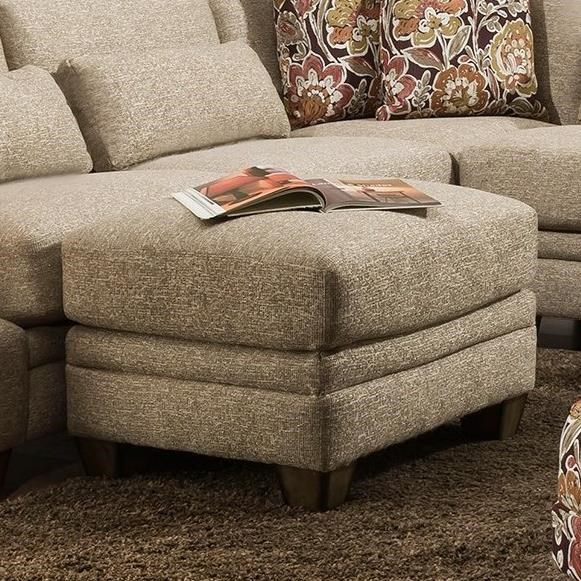 850 Chaise Ottoman by Franklin at Furniture and ApplianceMart