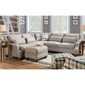 Franklin 850 L-Shaped Sectional - Item Number: 85059+04+60-3810-06