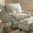 Franklin 863 Accent Chair - Item Number: 2170-Coal-Toned-Paisley