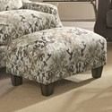 Franklin 863 Accent Ottoman - Item Number: 2175-Coal-Toned-Paisley