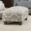 Franklin 863 Accent Ottoman - Item Number: 2175-Cool-Toned-Spiral