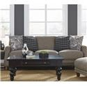 Franklin Gramercy Sofa - Item Number: 86340 3736-17
