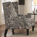 Franklin 885 Accent Chair - Item Number: 2197-Blue-Paisley