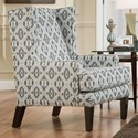 Franklin 885 Accent Chair - Item Number: 2197-Neutral-Ikat