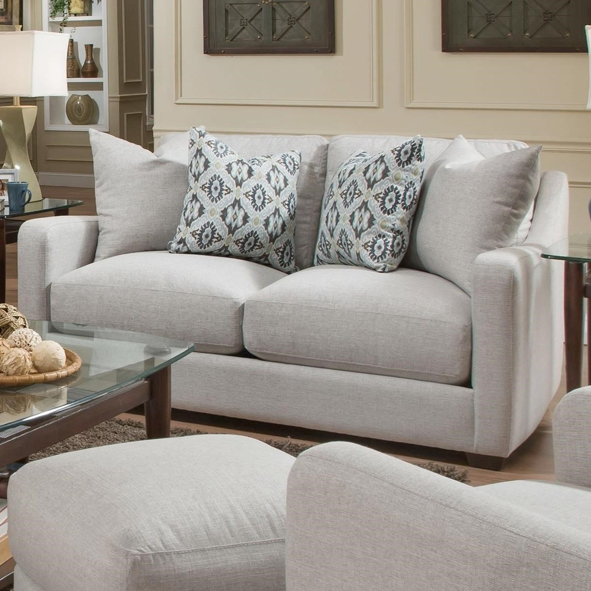 885 Loveseat by Franklin at Wilcox Furniture