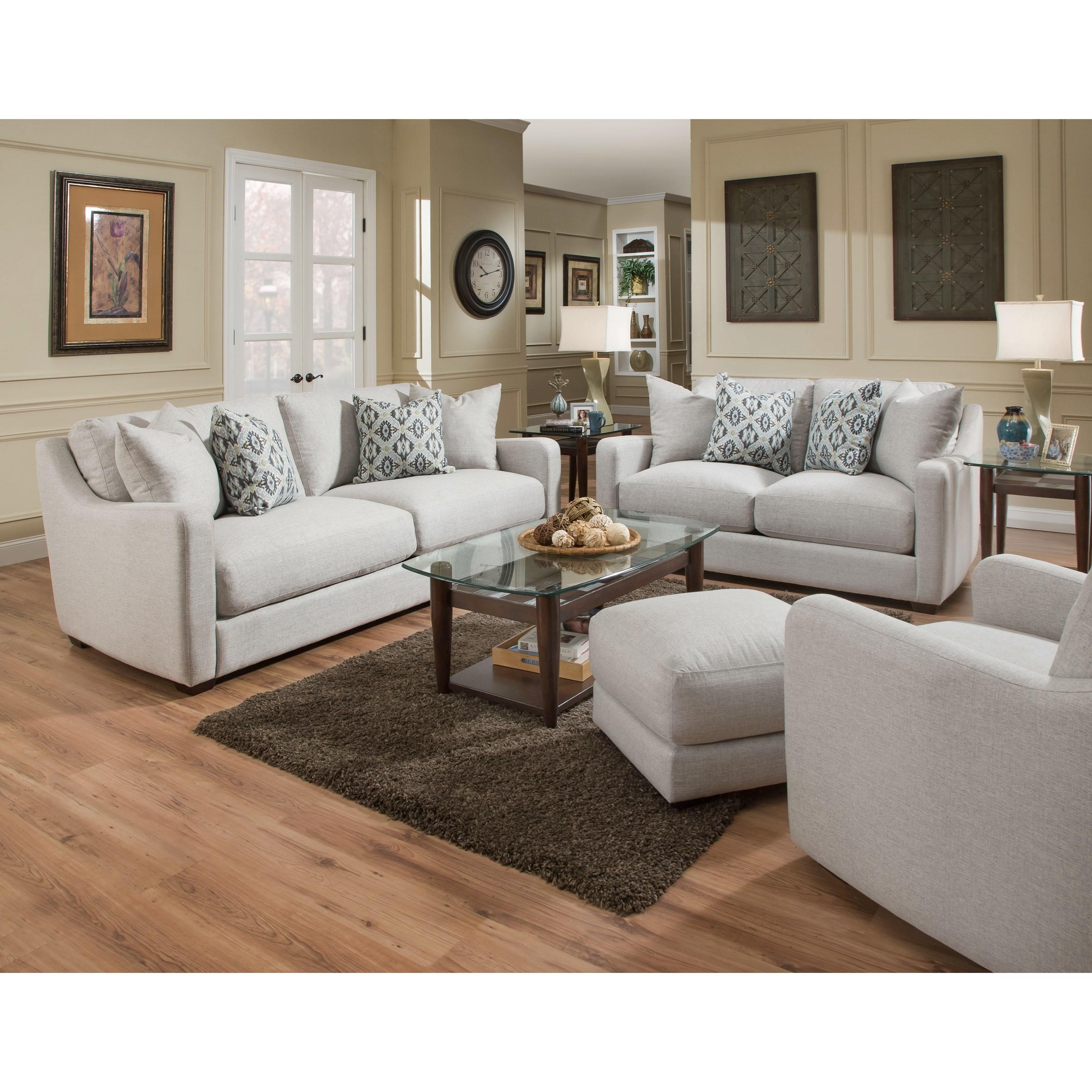 Franklin 885 88520 Loveseat John V Schultz Furniture Love Seats