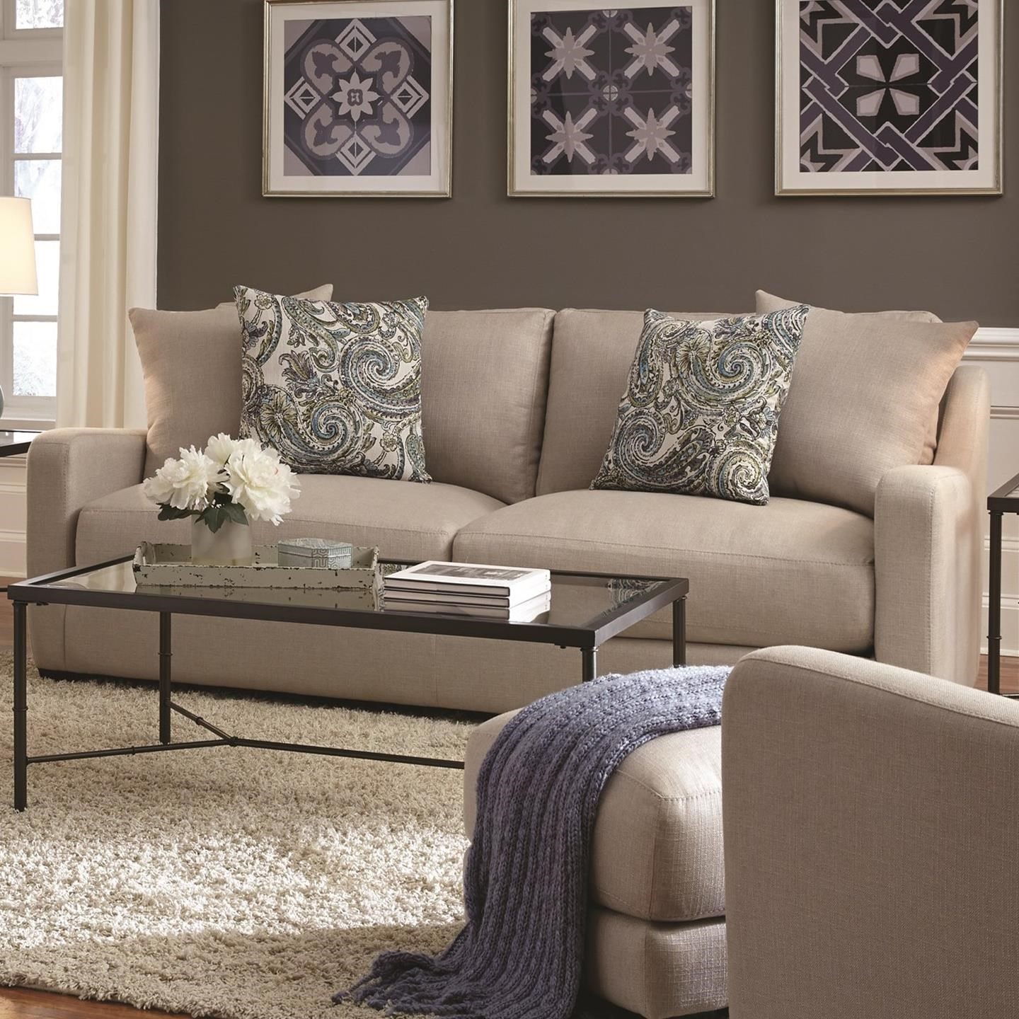 885 Sofa by Franklin at Wilcox Furniture