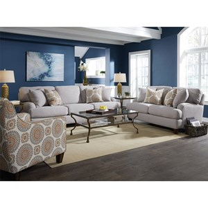 Franklin Brianna Stationary Living Room Group