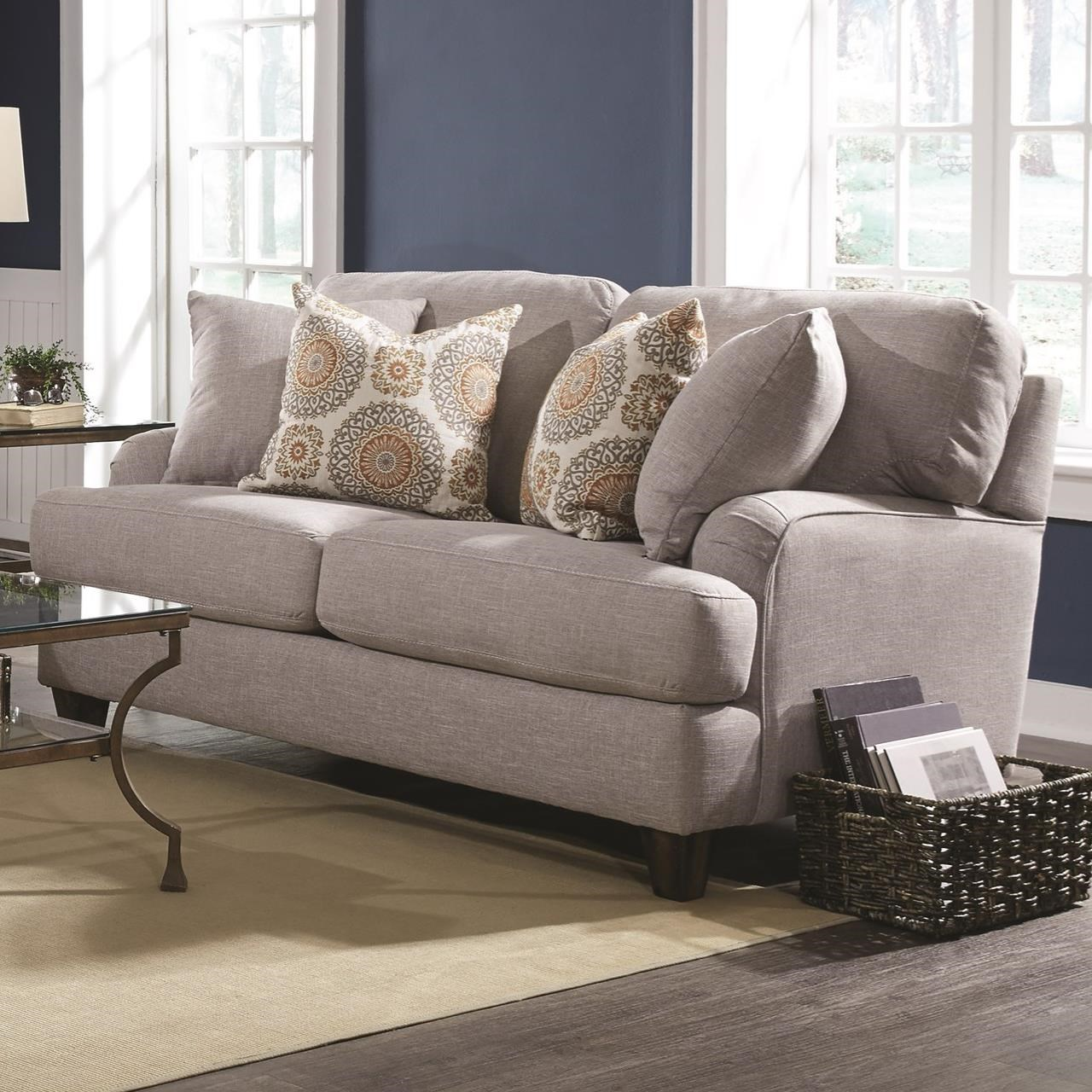 Carmel Loveseat by Franklin at Wilcox Furniture