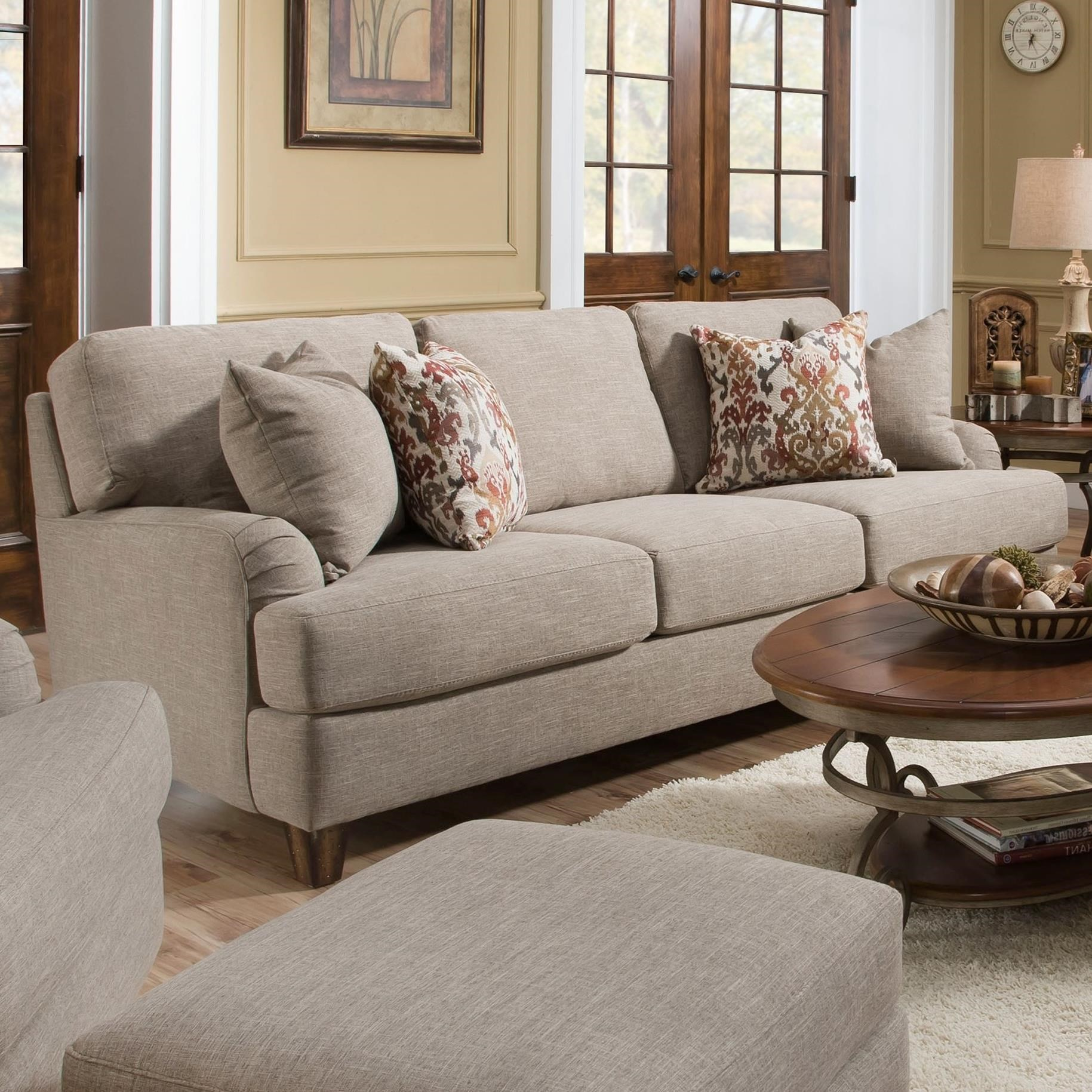 Carmel Sofa by Franklin at Furniture Superstore - Rochester, MN