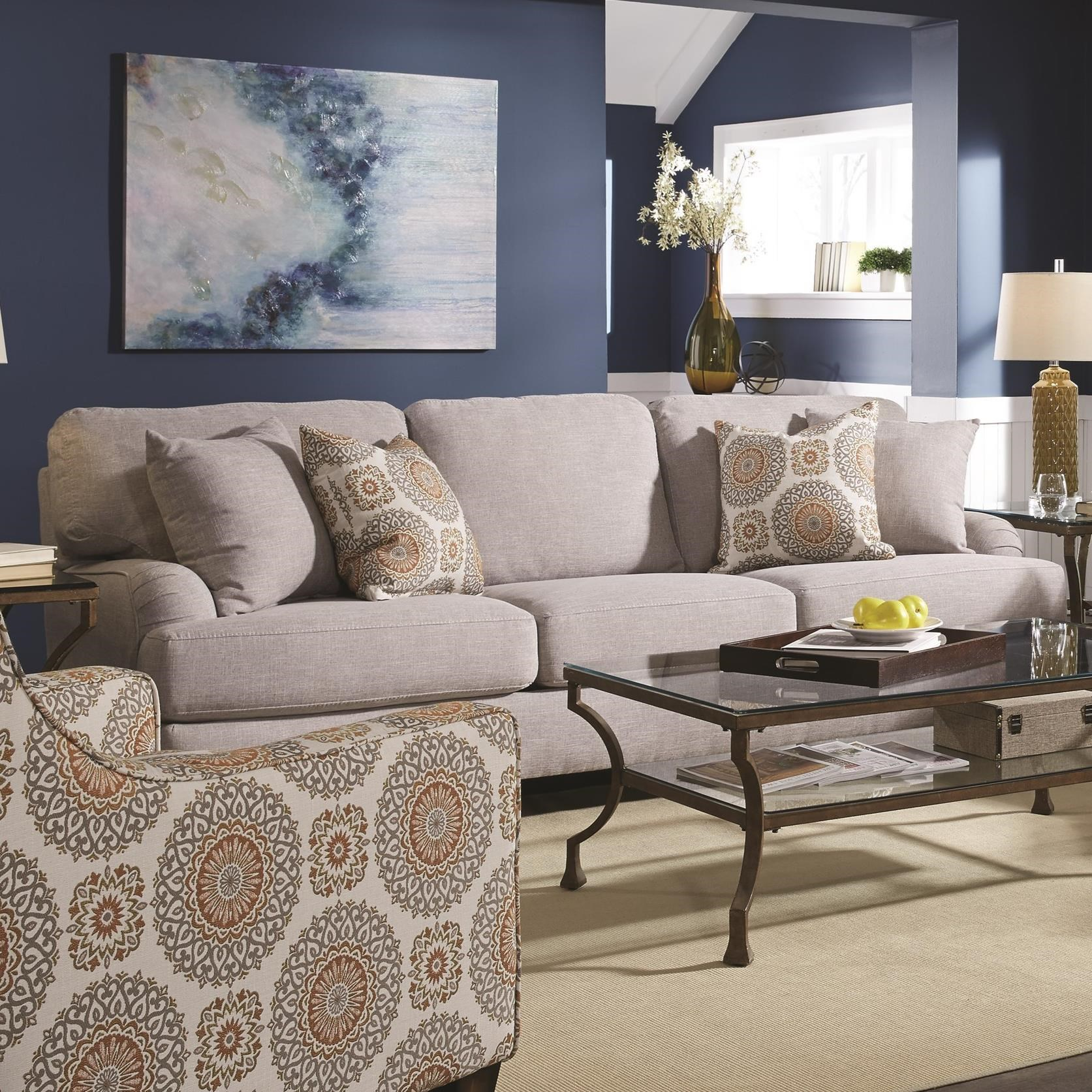Franklin Brianna Sofa With Classic Cottage Style