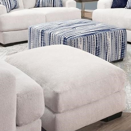 903 Ottoman by Franklin at Wilcox Furniture