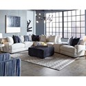 Franklin 903 Sectional Sofa - Item Number: 90359+04+03+75+02-3900-09
