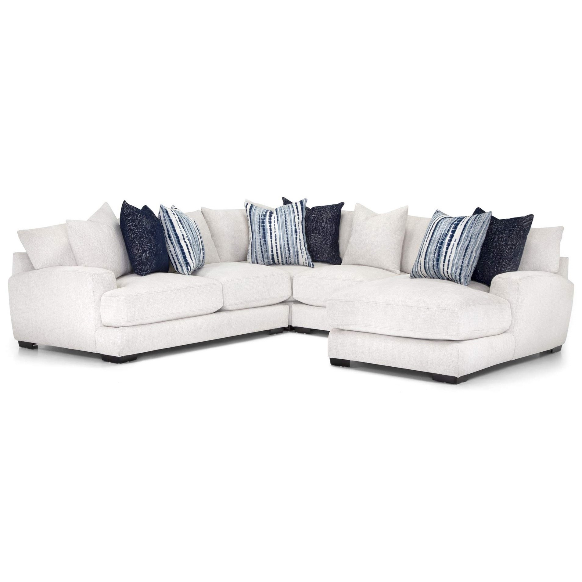 903 Sectional Sofa by Franklin at Virginia Furniture Market