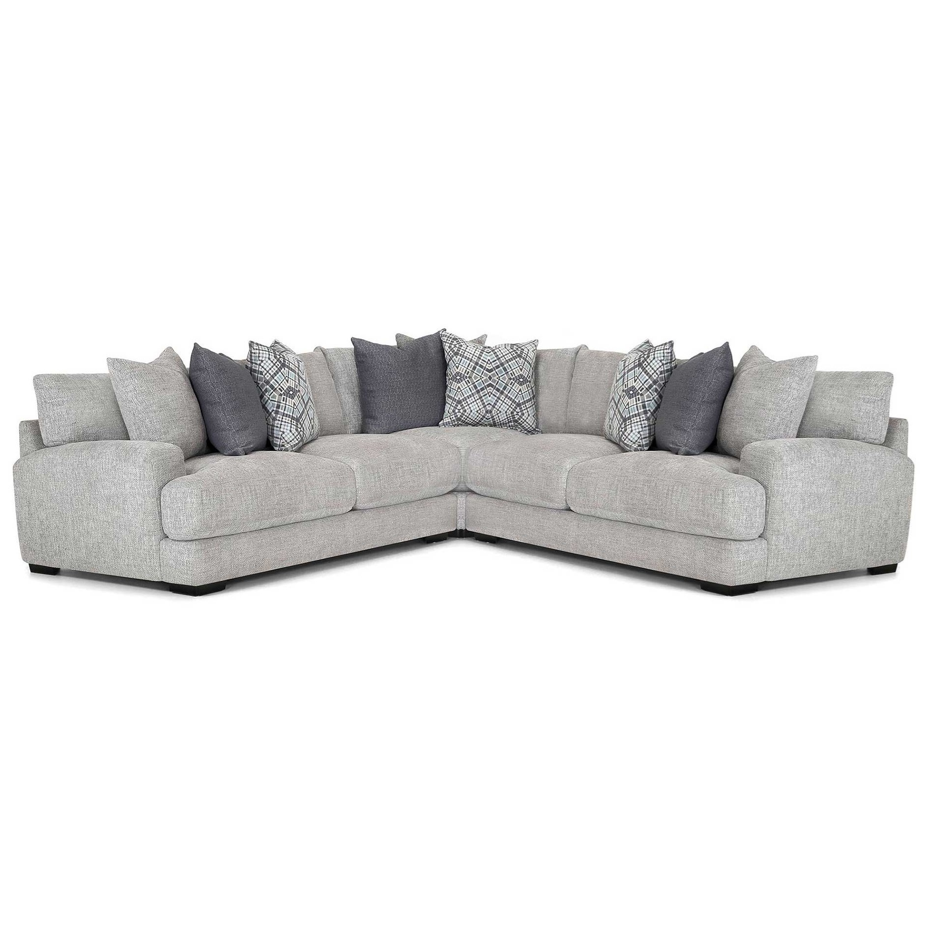 903 Sectional Sofa by Franklin at Furniture and ApplianceMart
