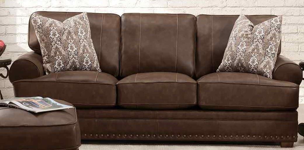 912 TULA LEATHER Tula Leather Sofa by Franklin at Furniture Fair - North Carolina