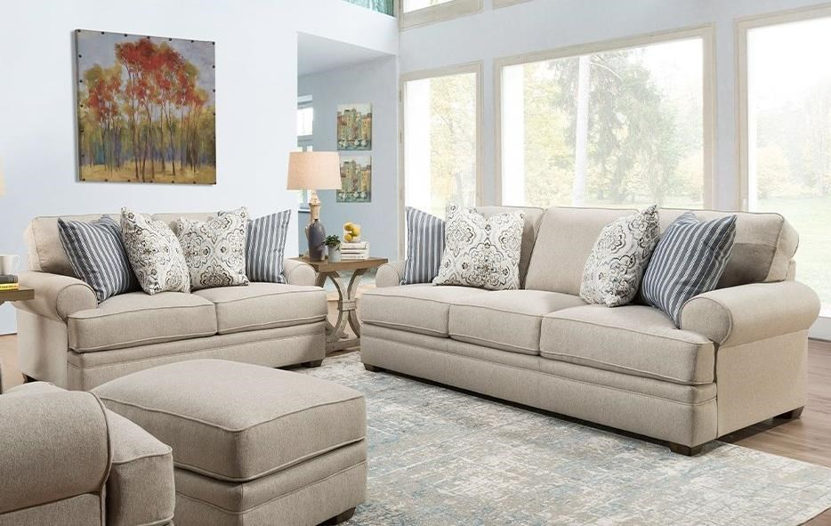 915 Stationary Living Room Group by Franklin at Lagniappe Home Store