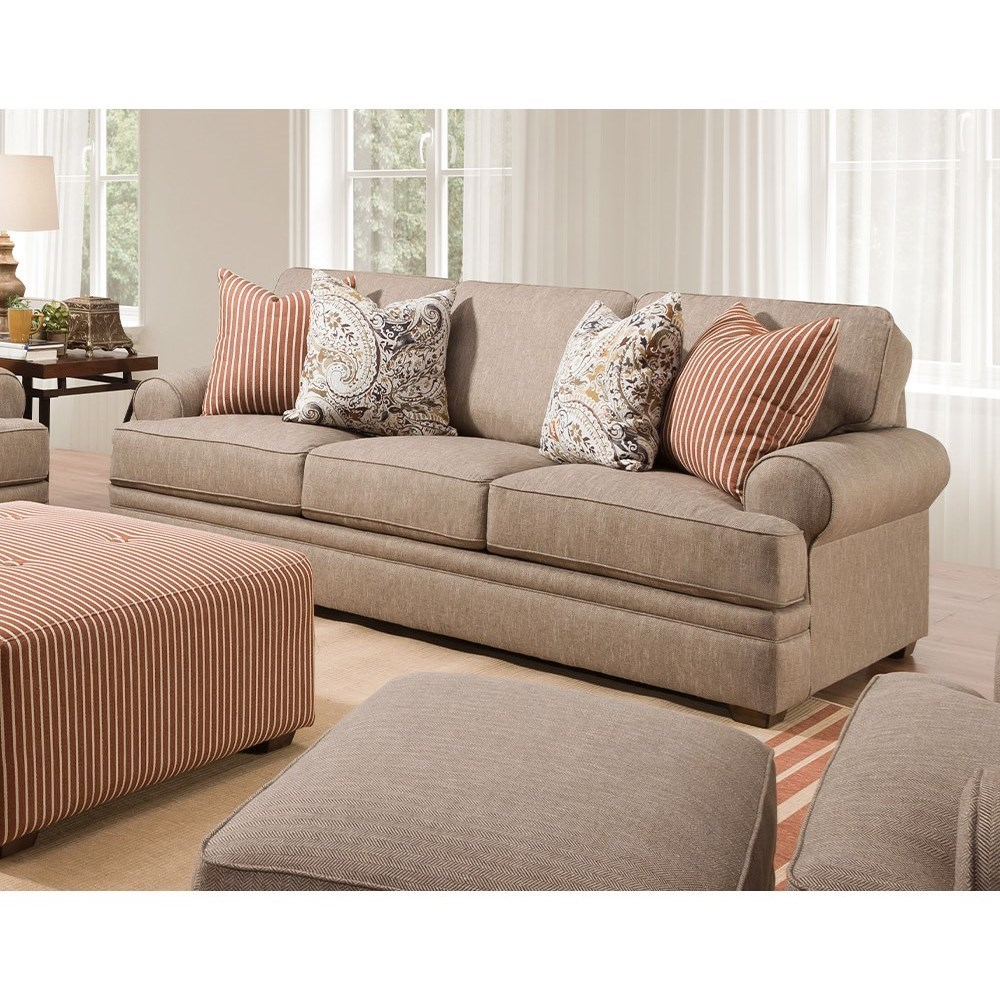 915 Sofa by Franklin at Wilcox Furniture