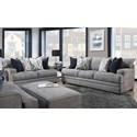 Franklin 953 Stationary Living Room Group - Item Number: 953 Living Room Group 1 3932-46