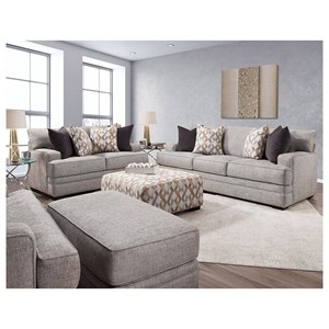 Stationary Living Room Group