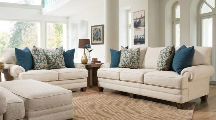 957 Stationary Living Room Group by Franklin at Wilcox Furniture